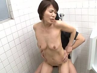 Japanese, Asian, Train, Married, Old, Bride, Cougar